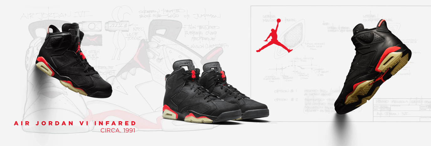 promo code 6d74c 585d6 FROM JORDAN WITH AIR: AIR JORDAN 6 'INFRARED' | JD Sports ...
